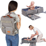 High Quality 3 in 1 Diaper Bag Backpack Portable Care Bed Travel Bassinet Baby Mobile Changing Station