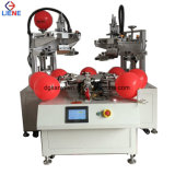 Automatic Two Color Balloon Flatbed Screen Printer