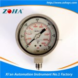 All Stainless Steel Shock-Proof Pressure Gauge