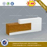 Counter Reception Table Desk MDF Modern Wooden Office Furniture (HX-8NE084)