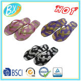 Hot Gold Printing Flip Flop for Lady Slippers