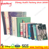 Fashion Plastic A4 Office Stationery Notebook