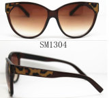 Best Design Plastic Woman Sunglasses (SM1304)