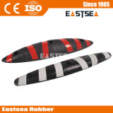 Multi Colors Rubber Zebra Bicycle Lane Seprator