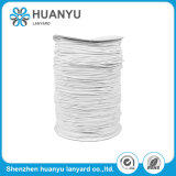 1.5mm Round White Polyester Elastic Cord