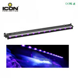 12X3w UV LED Wash Bar for Stage Wall Washer Lighting