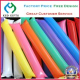 Plastic PE Inflatable Sports Cheering Sticks, Inflatable Toy