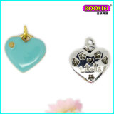 Manufacturer Custom Wholesale Enamel Necklace Heart Pendant
