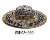 Fashion Large Wide Brim Straw Ladies Super Fashion Catwalk Large Floppy Straw Hat