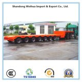 7 Axles Low Bed Semi Trailer From China Factory
