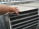 Aluminium Profiles for Concrete Shutters, Bridge, Curtain Wall, Helideck, Blinds, Solar Systems, Handrails, Marine Construction