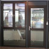Aluminum Glass Curtain Wall Facade Unitized Stick Frame Spider Sliding Folding Bifold Casement Awning Hinge French Price Double Glazed Aluminium Windows Doors