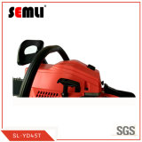 Portable 2-Stroke Chain Saw with Rubber Grip Handle