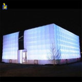 Outdoor White LED Lighting Inflatable Bubble Cube Marquee Tent K5077