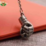 Custom Wholesale Soft Enamel Crown Shape Key Tag Key Holder Rubber Keychain Plastic Key Chain