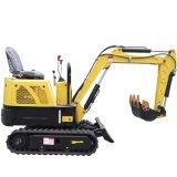 Best Mini Excavator Portable Digging Machines 1 Ton for Garden