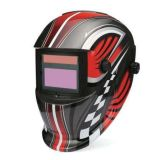 Solar Powered Auto Darkening Welding Helmet with Large Viewing Size, Welding Mask, Welding Shield