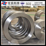 Metal Titanium Forged Alloy ASTM B 381 Titanium Forging