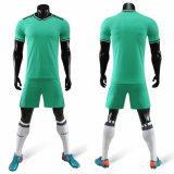 Custom Men 2020 Cheap Green/White Best Cool Short Sleeve Soccer Uniforms Jerseys for Sale
