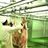Automatic Cattle and Sheep Slaughter Equipment for Halal Abattoir Machine with Lariage