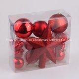 High Quality Custom Colorful Plastic Xmas Indoor Ornament Tree Decoration Christmas Ball
