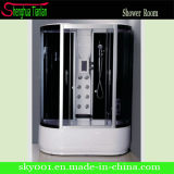 Hot New Design Simple Good Price Glass Shower Cabinet (8838)