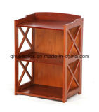 Bamboo Book Shelf Display Rack for Household
