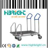 Metal Warehouse Trolley Cart (HBE-W-12)