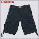 Black Cotton Shorts for Men Summer Pants