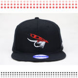 Black Devil 3D Embroidery Custom Snapback Hats