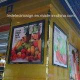Shopping Mall with Supermarket Advertising Display Picture Frame