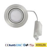 Tiltable IP44 5W LED Downlight with Replaceable LED Module