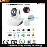 Low Cost Dome Onvif 720p P2p Wireless WiFi IP Camera with 2 Way Audio, SD Card Slot