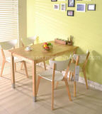Solid Wooden Dining Table Living Room Furniture (M-X2421)