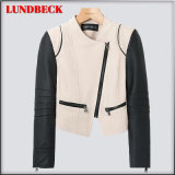 Best Sell Fashion PU Jacket for Women Outer Wear