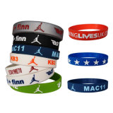 Personalized Wholesale Cheap Custom Silicone Bracelets Promotional Wristband