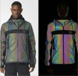 Reflective Fabric for Jacket Rainbow Woven