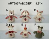 "4.5""H Country Christmas Animal Ornaments-Christmas Decoration"