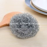 Cheap Galvanized Spiral Scourer /Stainless Steel Scrubber for Dish Cleaning