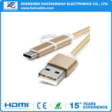 3 in 1 Multi Function Nylon USB Charging Cable for iPhone 5/6/Samsung/Type-C