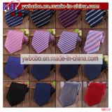 Printed Ties Jacquard Woven Stripe 100% Silk Men's Tie (B8151)