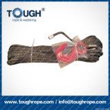 Grey Color 11mmx30m4X4 Synthetic Winch Rope Tough Rope 100% Uhwmpe Fiber