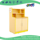 Kindergarten Children Role Play Wood Worktop Style Cabinet (HG-4405)