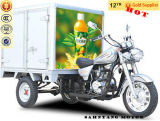 250cc 150cc China Enclosed Cabin Tricycle Three Wheel Motorcycle with Cooling Box with Container for Sale