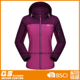 Women′s Softshell Fashion Sports Hoody Jacket