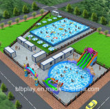 New Inflatable Water Park Design for Clients