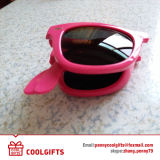 Fashion Foldable Cheap Sunglasses with Custom Logo for Promotional Gift