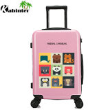 China Manufactory Customized Logo Trolley Luggage Bag Travel Bag Hybrid Luggage