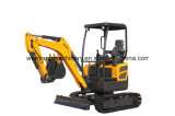 Wy20h Kubota Engine 2ton Small Crawler Excavator