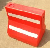 Red Refelctive Plastic Road Traffic Barriers